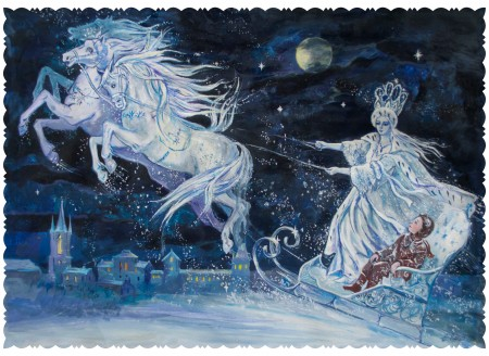 Snow Queen by Elena Ringo 450x328 Die Schneekönigin